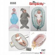 8568 Simplicity Pattern: Baby Accessories
